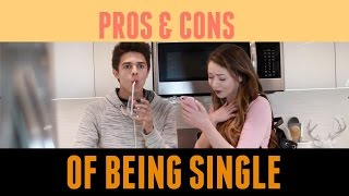 Pros and Cons of Being Single (w/ Meredith Foster) | Brent Rivera thumbnail