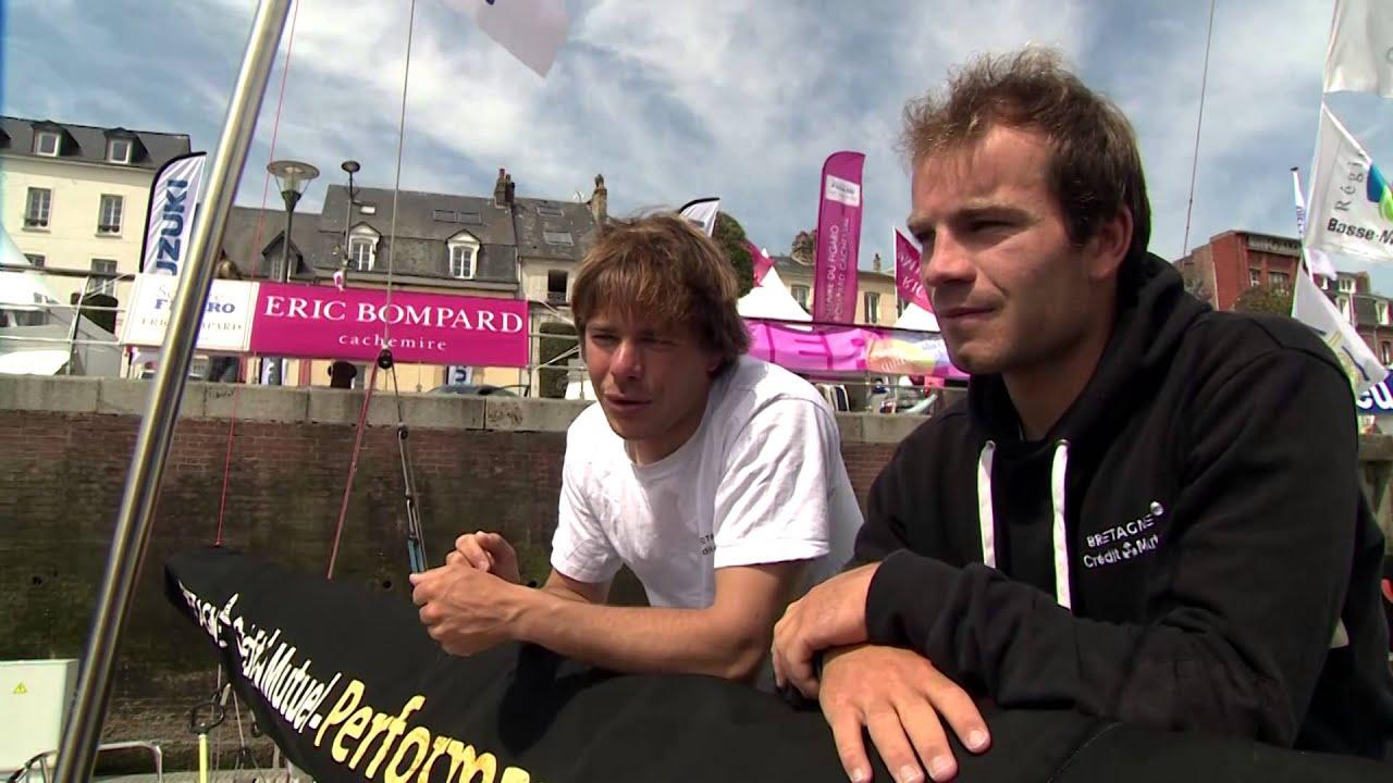 Quatrième étape de la Solitaire du Figaro - Eric Bompard cachemire