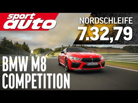 BMW M8 Competition | Nordschleife HOT LAP 7.32,79 min | sport auto
