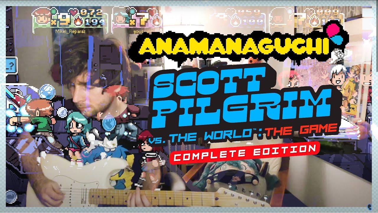 Download Anamanaguchi - Scott Pilgrim vs the World: The Game Soundtrack (4K)