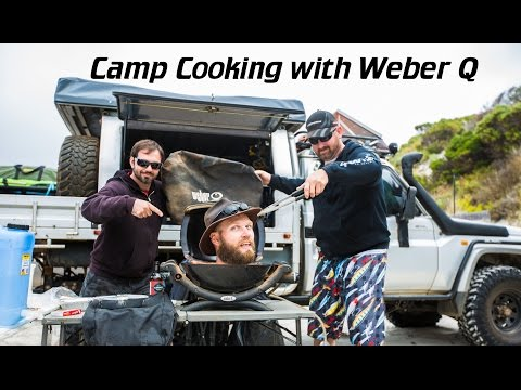 Weber Q Cooking, Roast, Pizza & various meats