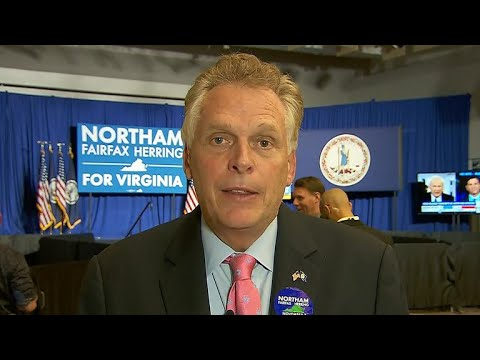 Outgoing Va. Gov. Terry McAuliffe on the race