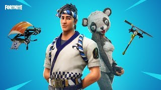 Fortnite new skins. Panda team leader - Sushi master,Filet axe