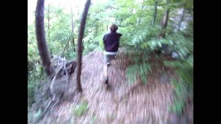 3 x Run in the forest  GoPro HD