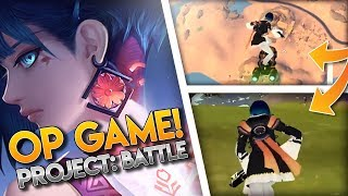 NEW BATTLE ROYALE GAME!! [Project: Battle] Gameplay / Montage (Alpha testing)