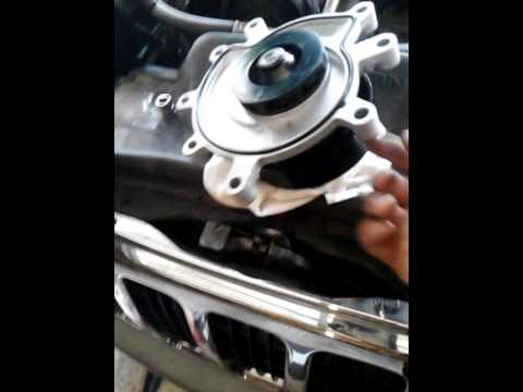 Jeep Grand Cherokee 4 7 L Water Pump Change Youtube