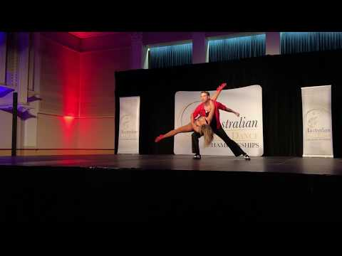 2017 Australian Latin Dance Championships - Male Amateur - Cabaret (Salsa) - 1st Place