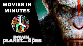Dawn of the Planet of the Apes in 4 minutes - (Movie Recap)