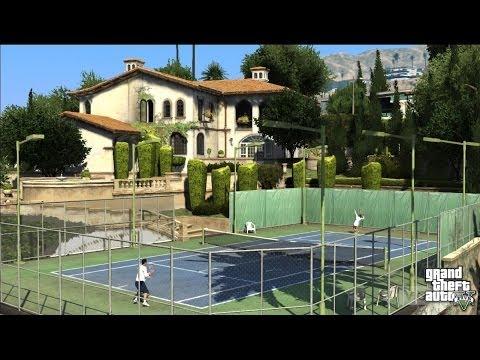 GTA V ONLINE | Petite partie de Tennis en ligne !