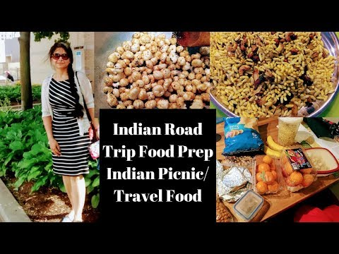 Indian Road Trip/ Picnic Food Preparations ll Indian Travel / Trip Food l English Subtitles Added.