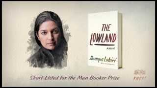 The Lowland by Jhumpa Lahiri book trailer