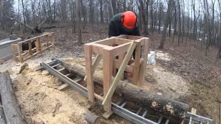Wooden Sawmill