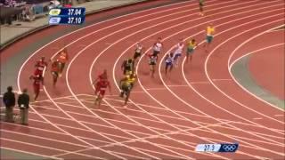 Jamaica Break Mens 4x100m World Record   London 2012 Olympics mp4