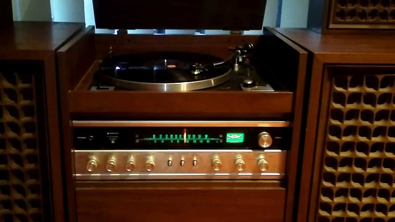 Sanyo Synthesized Quadraphonic Hi Fi Youtube