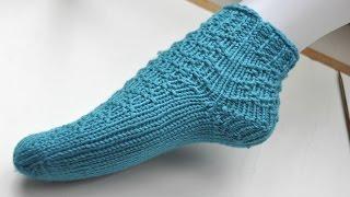 Socken Stricken Super Easy Socken Von Der Spitze Teil 2 Das Muster