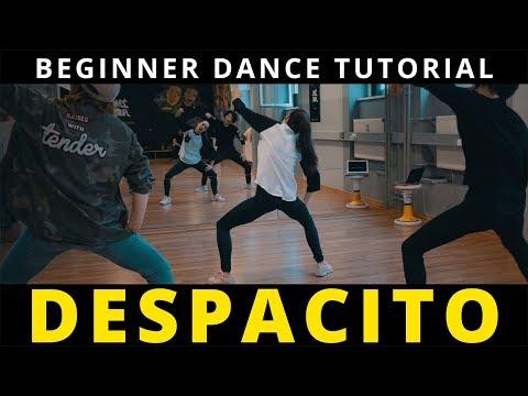 DESPACITO Dance Tutorial mit Musik ♫  Beginner Hip Hop Choreography   TanzAlex (deutsch)