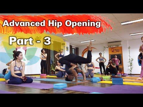 Advanced Hip Opening Yoga Class Part-3 | Yoga For Hip Flexibibility | Raja Gupta