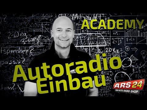 Autoradio einbauen | So gehts! | Tutorial | ARS24