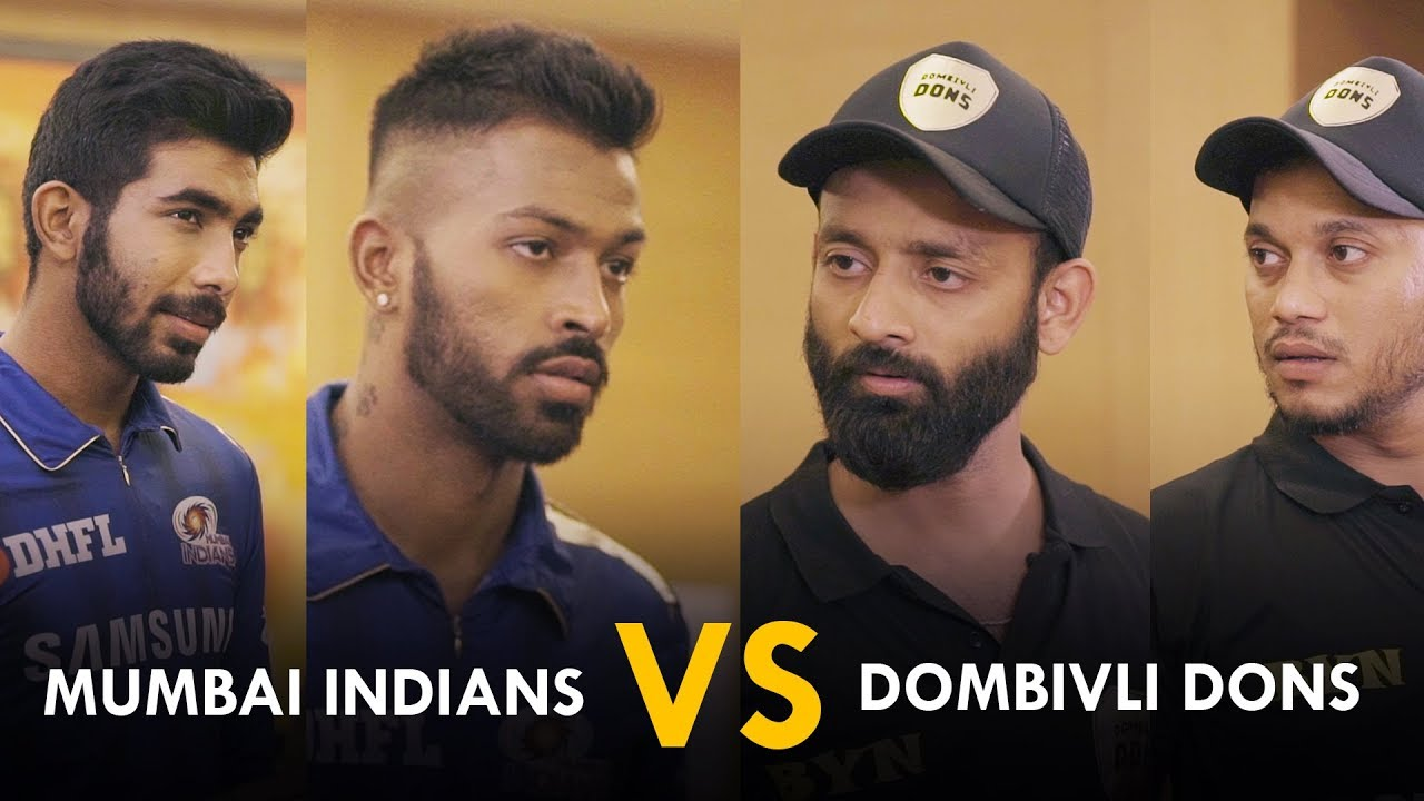 BYN: MUMBAI INDIANS VS DOMBIVLI DONS