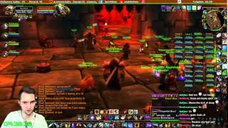 First time in BWL! Blackwing Lair vanilla WoW raid on Valkyrie
