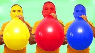 Ayşe's Magic Balloons & Kerem was surprised Shock