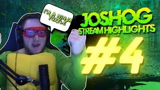 Ninja Turtle?!? -  JoshOG Stream Highlights #4 - (Funny Twitch Moments, WTF Moments & Epic Plays)