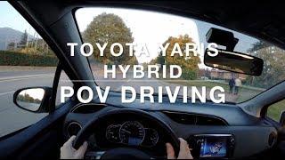 Toyota Yaris Hybrid - POV Drive