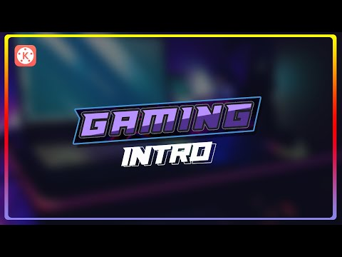 Gaming intro tutorial in Kinemaster | Marvill TV
