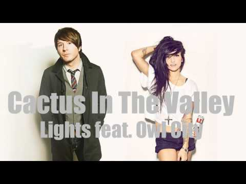 Cactus In The Valley [Acoustic] (feat. Owl City) - Lights with Lyrics [CC]