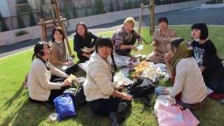 Япония. Старшая школа. Знакомство со школьниками.