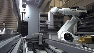 Bystronic Automation Bending: Modular Tool Changer demo video (English)