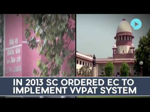 Ec Will Spend 3K Cr To Procure 16 15L Vvpats