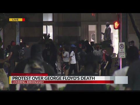 Protests in Birmingham 5.31