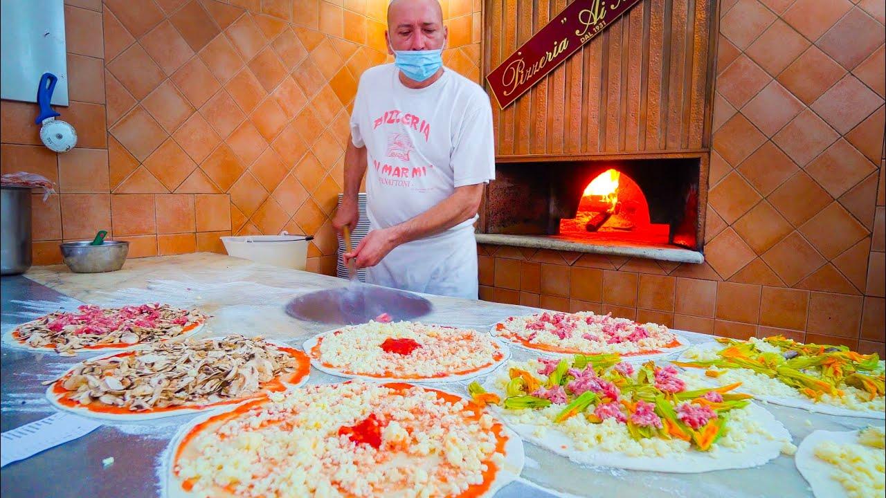 Street Food in Italy 🇮🇹 ROME'S #1 PIZZA at Ai Marmi + ITALIAN STREET FOOD in Roma!