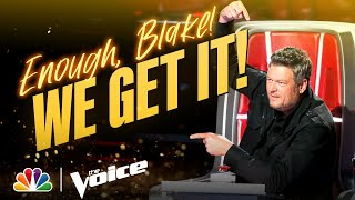 Download Kelly, Ariana and John Have Had Enough of Blake | The Voice 2021