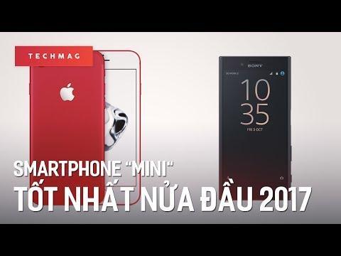 """TechMenu: Những smartphone """"Mini"""" tốt nhất nửa đầu 2017"""