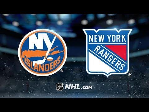 New York Islanders Vs. New York Rangers   NHL Game Recap   October 19, 2017   HD