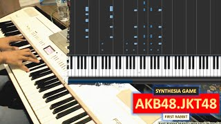 JKT48 - First Rabbit / Kelinci Pertama (Piano Cover)