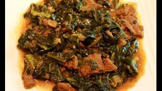 Ethiopian Collard Greens With Beef
