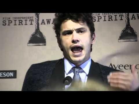 James Franco at 26th Film Independent Spirit Awards (2011)
