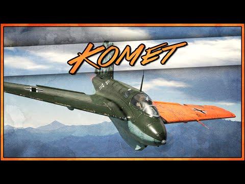 War Thunder RB Gameplay - Me 163B Komet - The Gazelle...