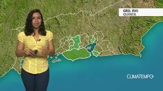 Previsão Grande Rio – Chuva forte