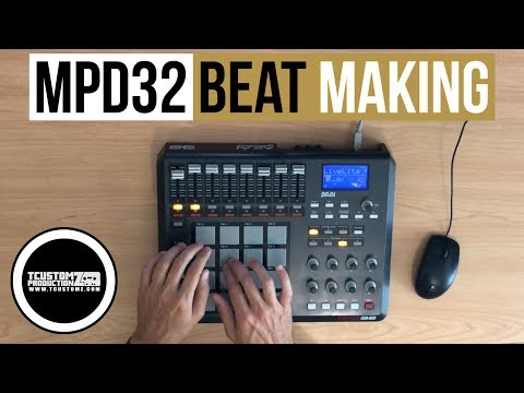 MPD32 Beat Making - Sample Hip-Hop Beat (Easy)