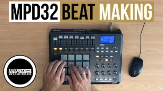 "MPD32 Beat Making - Sample Hip-Hop Beat (Easy) ""Say to You"""
