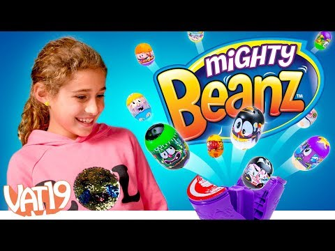 Collect an Explosion of Mighty Beanz!