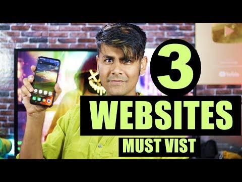 3 Top Websites You Should Visit | My Fav Websites