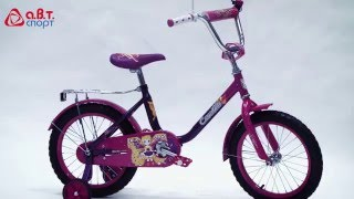 Обзор велосипеда Black Aqua Camilla. Диаметр колес 12