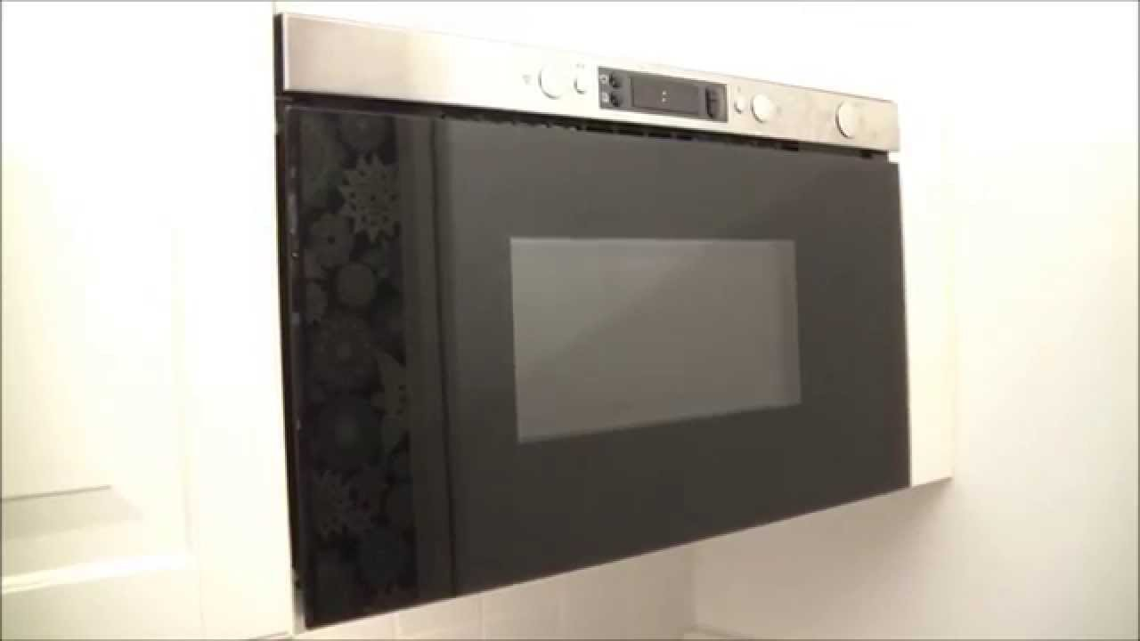 Micro Onde Ikea Encastrable ikea microwave - hd closeup review - youtube