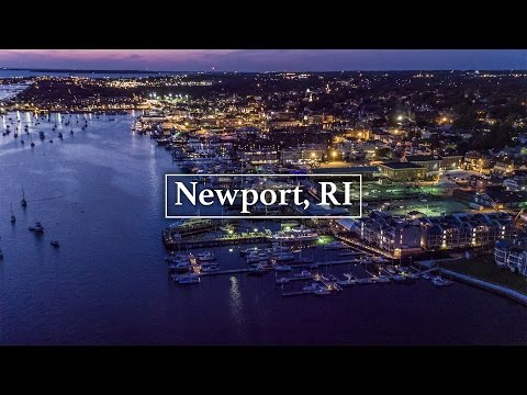 Newport, RI by Drone in 4K