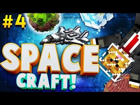Minecraft SPACE CRAFT - POWER ARMOR MOD - Modded Survival #4